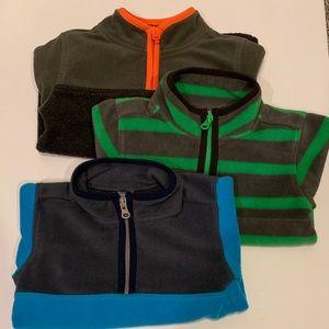 Carter's 3t half zip fleece pullover sweatshirts